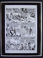 Original Production Art ADVENTURE COMICS #251, pg 4, JACK KIRBY art, Green Arrow