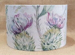 Voyage THISTLE GLEN spring lilac floral drum lampshade 15 20 25 30 35 40 45cm