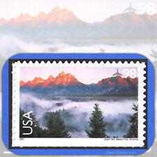 2009 GRAND TETON Scenic American Landscapes 98¢ Single AIR MAIL #C147