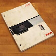 Danfoss VLT 5000 Instruction Manual for VLT 5000 Servo Drive - USED