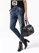 $278 Diesel Women's Fayza JoggJeans Division 0857X Skinny crop Jeans Size 25