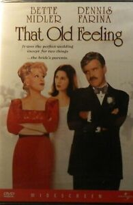 Carl Reiner's THAT OLD FEELING (1997) Bette Midler Dennis Farina SEALED DVD