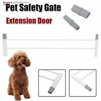 "5.5"" Pet Dog Cat Fence Extension Safety Metal Gate Door Childs Toddler Security"