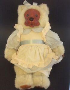 "Robert Raikes Teddy Bear VTG 1988 #17013 Emily 22"" Applause Home Sweet Home"