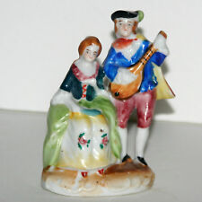 Vintage Made In Occupied Japan - Figurine -  Man Playing Mandolin, Woman on Left