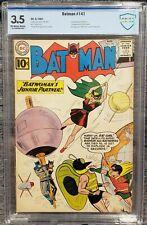 Batman #141 (1961) CBCS 3.5 KEY 2nd Bat-Girl 1st Clockmaster Bondage Cover CGC