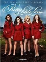 Pretty Little Liars - Complete Fourth Season (DVD, 2014, 5-Disc Set) NEW!