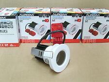 Lot of 4, Aurora M10, IP65, Bath/ Shower Room 10w LED Ceiling Down Light.White