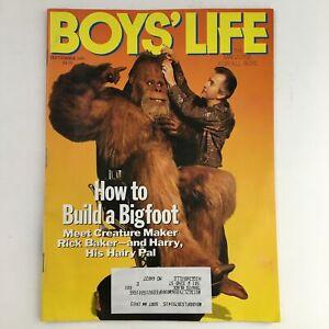 Boys' Life Magazine September 1991 Meet Creature Maker, Rick Baker & Harry VG