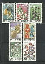 GUINEA BISSAU. Año: 1983. Tema: AJEDREZ.