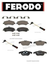 For Mercedes X204 GLK350 Front & Rear Disc Brake Pad Sets w/ Sensors Ferodo NEW