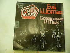 "CROW""EVIL WOMAN-disco 45 giri LONDON GER 1971"" VERY RARE"