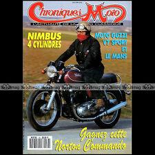 CHRONIQUES MOTO N°38 NORTON COMMANDO GUZZI V7, 850 LE MANS NIMBUS 750-4 TERROT