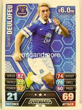 Match ATTAX 2013/14 premier League - #107 Gerard Deulofeu-Everton