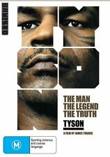 Tyson (DVD, 2009) // category stickers on sleeve