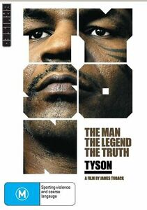 Tyson - The Man - The Legend - The Truth - With Sleeve - DVD Free AusPost