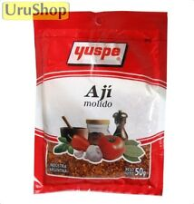 F73 AJI MOLIDO YUSPE 50g FAMOUS CRUSHED RED PEPPER CONDIMENT FOR BBQ!