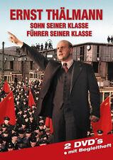 2 DVDs *  ERNST THÄLMANN - Sohn seiner Klasse - Führer seiner Klasse # NEU OVP &