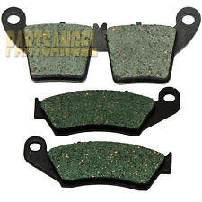 Front Rear Carbon Brake Pads For 2002-2007 2006 2005 Honda CRF450R CR250R CR125R