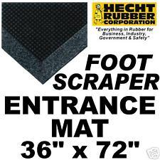 """36"""" x 72"""" Rubber Foot Scraper Entrance Mat"""