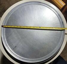 20 Pizza Pan Aluminum 18 Gauge Wide Rim Pt Wr20