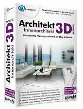Architekt 3D X8 Innenarchitekt CD/DVD  Neu & OVP  EAN 4023126117823