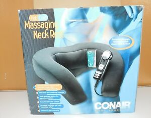 Conair Hot/Cold Massaging Neck Rest Electric with Remote NM6VGR