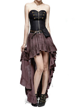 Punk Rave Steampunk Gothic Victorian Vampire Pirate Mediaval Style Corset Dress