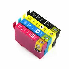 4x Generic Ink 212XL 212 E-212XL for Epson XP2100 XP4100 WF2810 WF2830 WF2850