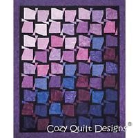 Spin City Quilt Pattern - Cozy Quilt Designs