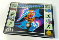 WINTER GAMES by Epyx 1985 Commodore 64 C64 Original Spiel OVP Big Box Boxed