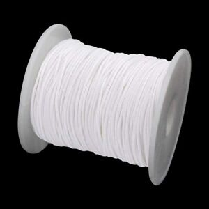 White Roman Blind Cord 1.2 mm Strong Nylon String Curtain Window Light Pull DIY