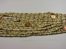 "15 Strands 15"" India Handmade Scary Face Water Buffalo Bone Beads Lot (GP-5)"
