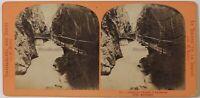 Reggiseno Del Trient A Vernayaz Près Martigny Suisse Foto - Vintage Albumina