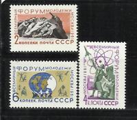 U.R.S.S. Año: 1961. Tema: FORUM MUNDIAL DE LA JUVENTUD.