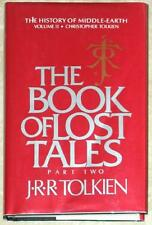 BOOK OF LOST TALES PART 2 ~ JRR Tolkien ~ HISTORY OF MiDDLE-EARTH ~ HC