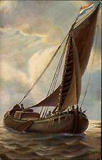 Schiffe ~1910 Marine Galerie Nr. 177 Holland Küstenfahrer Ship 19. Jahrhundert