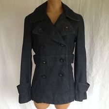 Mossimo Cotton Denim Basic Coat Jacket Size S
