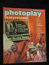 THE BLACK HOLE cover and feature, CLINT EASTWOOD Photoplay magazine