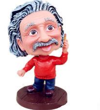 """5"""" Scientist Albert Einstein Bobble Head Cartoon Doll Action Figure Red Statue"""