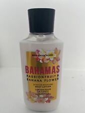 Bath & Body Works Bahamas Passionfruit & Banana Flower Body Lotion 8oz