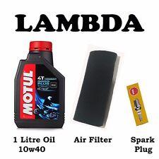 Minor Service Kit for CT110 oil air filter spark plg Honda Postie Bikes (3pc)
