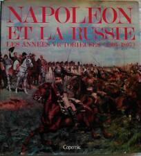 C1 NAPOLEON Lachouque NAPOLEON ET LA RUSSIE 1805 1807 RELIE ILLUSTRE Jaquette