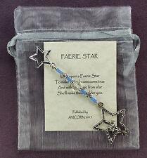 FAERIE STAR CHARM Fairy Fairie Wish Magick Amulet Talisman Dream Spell BLUE