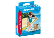 Playmobil Special plus nº 9354 # stand up Paddling # con tabla de surf & perro verano