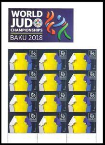 Azerbaijan 2018 * World Judo Championship in Baku * SPORT * Sheet * MNH