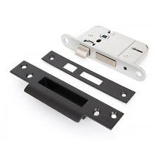 "British Standard 5 Lever Sashlock - Keyed Alike - Black 2.5"""