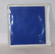 Usado Cokin 21 Un Azul Serie Cuadrado Filtro Objetivo Hecho en Francia 7.6X7.6cm