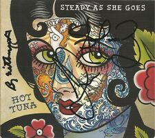 Steady As She Goes * by Hot Tuna (CD W/ Tattoo, 2011, Red House) Original Signed