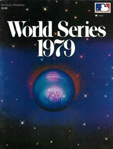 1979 World Series Program, Pittsburgh Pirates vs Baltimore Orioles- MINT